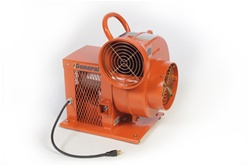 EP8 Electric Blower, 8 Inch Diameter, Radial Flow