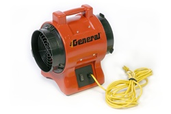 EP8ACP Electric Blower, 8 Inch Diameter, Axial Flow